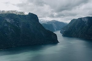 The Fjord's turquoise Waters