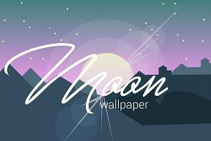 4 minimalistic landscape wallpapers