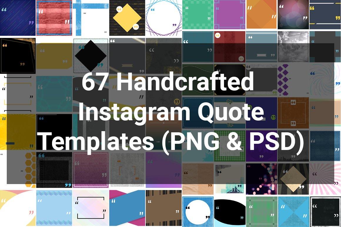 67 Custom Instagram Quote Templates ~ Instagram Templates ~ Creative ...