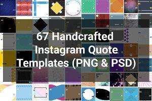 67 Custom Instagram Quote Templates