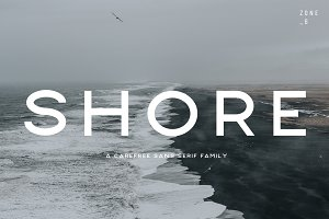 Shore | A Carefree Font Family