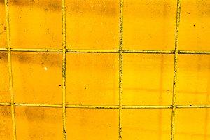 Metallic Yellow Surface