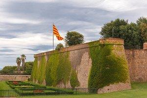 Montjuic hill in Barcelona, Catalonia, Spain
