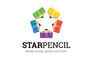 Star Pencil Logo