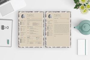 CV-Resume/Portfolio/Card Template *C