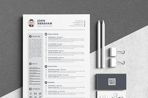 Resume/CV-John Abraham
