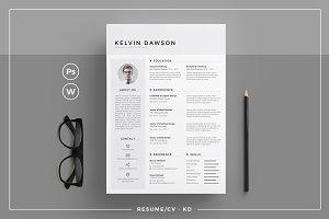 Resume/CV - KD