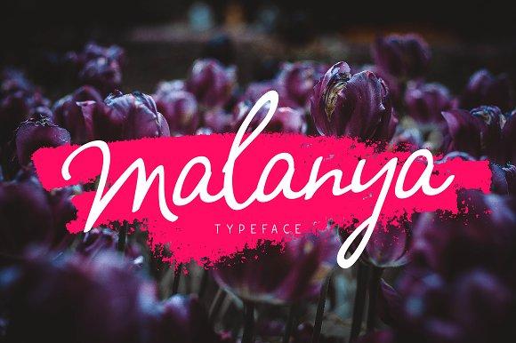 Malanya Typeface