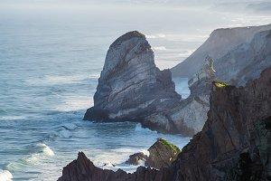 Atlantic coast. Cabo da Roca