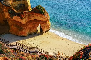 Atlantic coast. Algarve