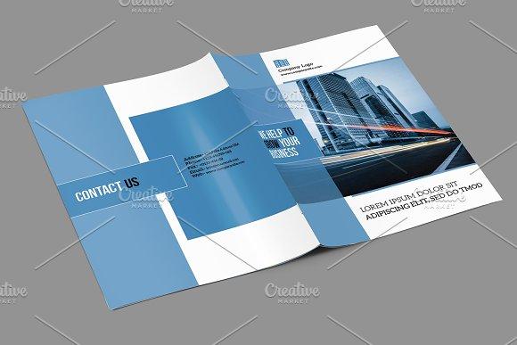 indesign business brochure v739 brochure templates creative market