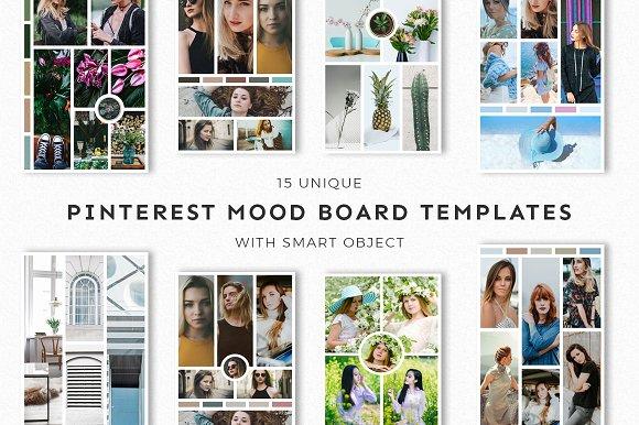 15 Pinterest Mood Board Templates