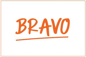 Bravo | Fancy Typeface