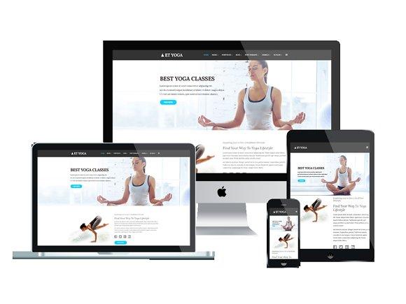 ET Yoga Yoga Joomla Template