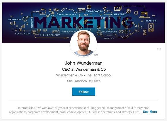 Editable Linkedin Backgrounds