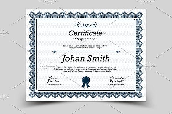 Multipurpose Certificate V02