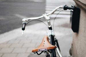 Brooks bicycle seat