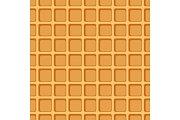 Waffle seamless pattern.
