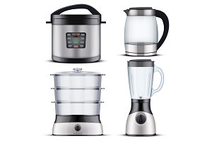 Domestic Kitchen appliances
