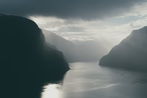 Fjord Landscape of Norway