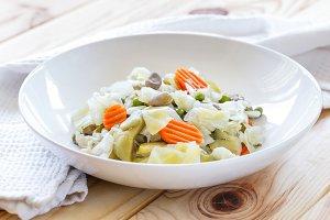 Spanish Style Veggie Stew