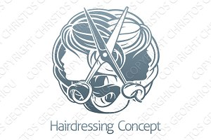 Stylist Hair Salon Hairdresser Concept