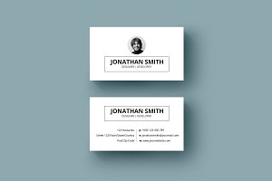 Minimal Business Card-v03