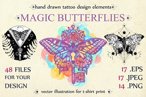 Magic butterflies