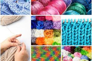 Threads collage
