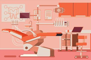 Dentist Office illustrations