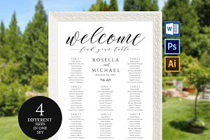 Wedding seating chart SHR160