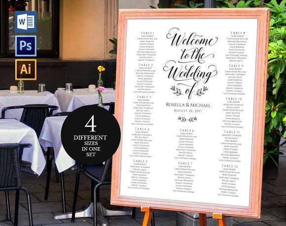 Wedding Seating Chart Wpc161