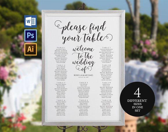 Wedding Seating Chart Wpc164