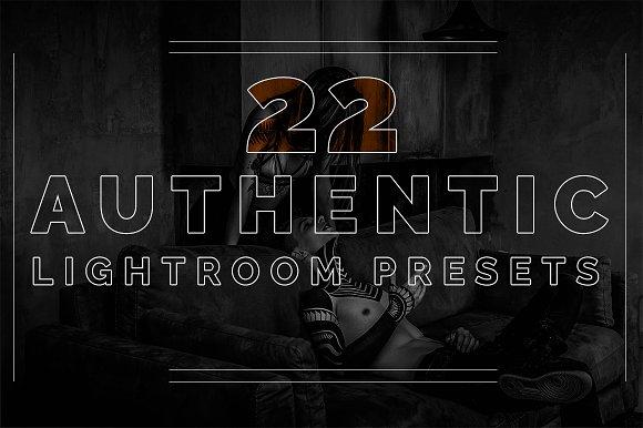 22 Authentic Lightroom Presets