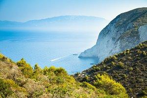 The surroundings of the Zakynthos, Greece.