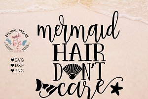 Mermaid Hair Don't Care Cutting File