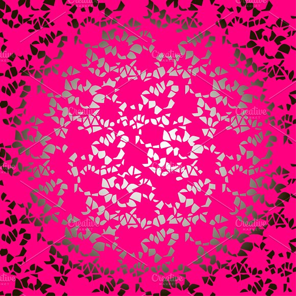 Lace floral wallpaper pattern
