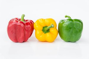 sweet pepper three color vegetabls
