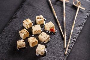 Feta cheese cube