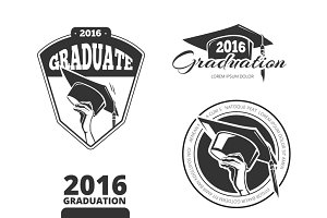 Graduating class badges