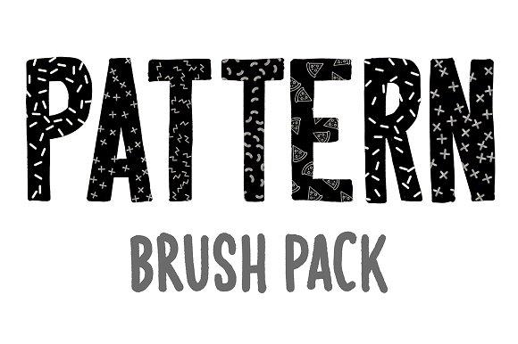 Pattern Brush Pack For Procreate