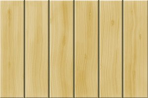 Beige wooden planks