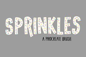 Sprinkles Brush for Procreate