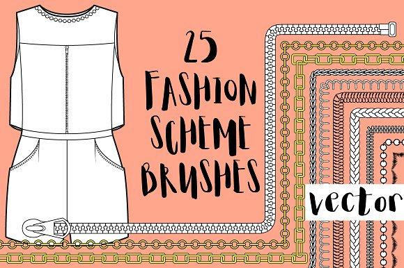 25 Fashion Brushes