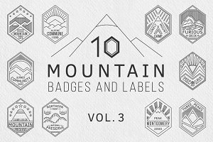 Mountain Badges vol. 3