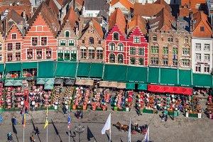 Bruges, Market square