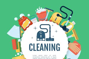 House cleaning poster
