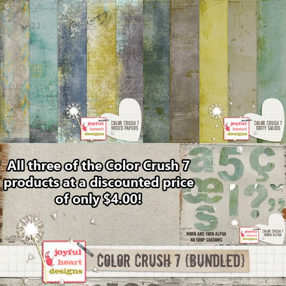 Color Crush 7 Bundle Only $4