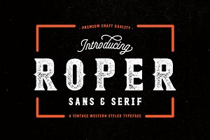 Roper Font Family - 70% OFF