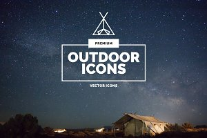 Premium »Outdoor« Icons